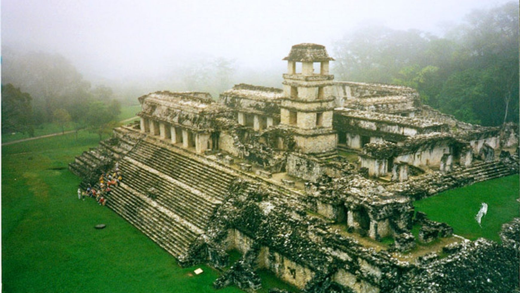 Aardeheling Palenque, Mexico