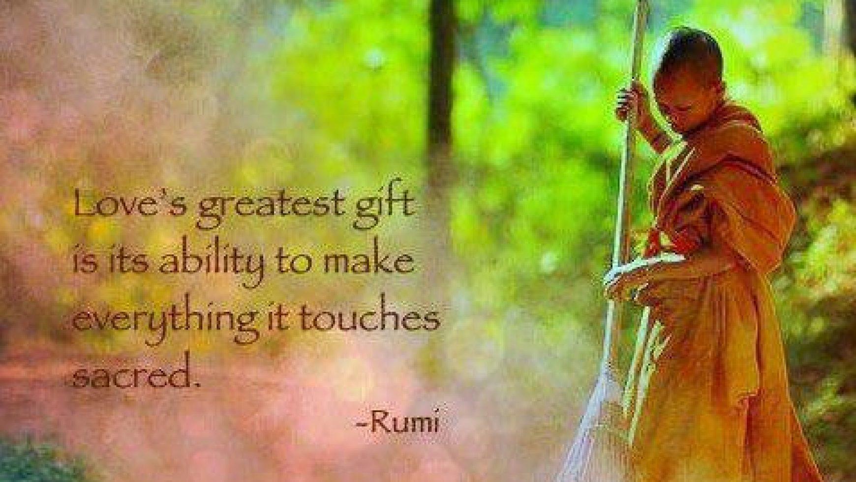 Liefde als geschenk