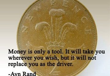 money is a tool