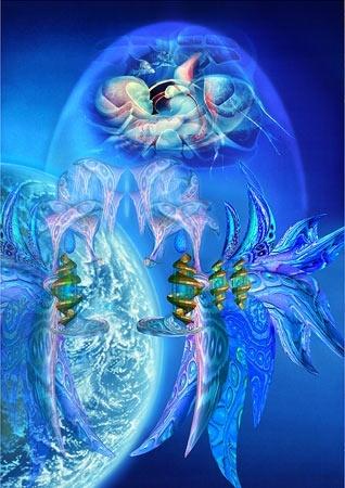 Leeuwenpoort 3, de blauwe straal van onvoorwaardelijke liefde.