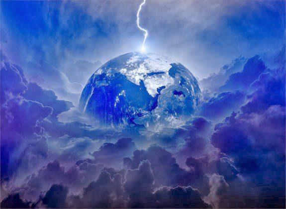 lightning-earth