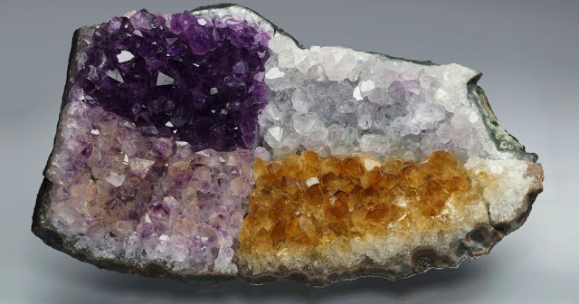 Changes in Color of Amethyst